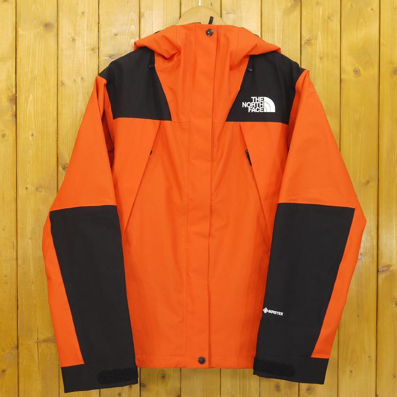 【期間限定】ポイント20倍【中古】THE NORTH FACE/ザ・ノース・フェイス MOUNTAIN JACKET マウンテン ジャケット GORE-TEX ゴアテック ナイロンジャケット NPW61800 サイズ:XL カラー:パパイヤオレンジ【f111】