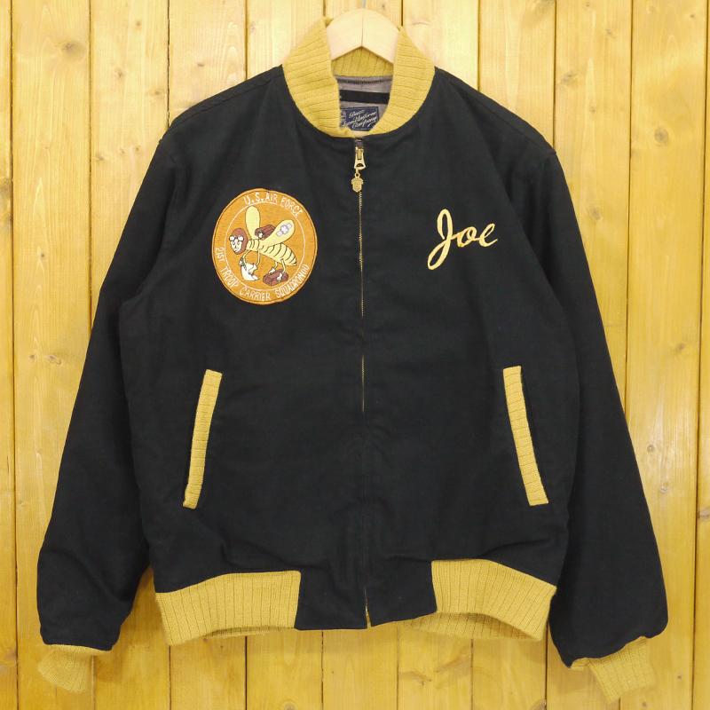 【中古】Buzz Rickson's/バズリクソンズ スーベニールジャケット サイズ:40 カラー:ブラック【f093】
