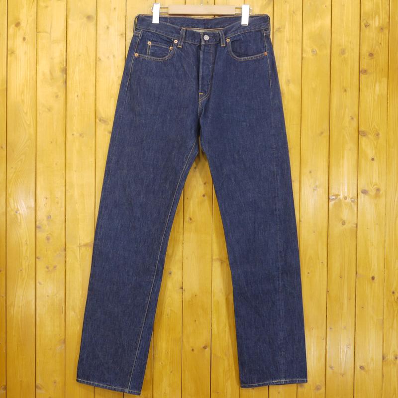 【中古】LEVI'S VINTAGE CLOTHING/リーバイスビンテージクロージング 1966年モデル 501 デニムパンツ ボタンフライ トルコ製 サイズ:31 カラー:ブルー【f107】