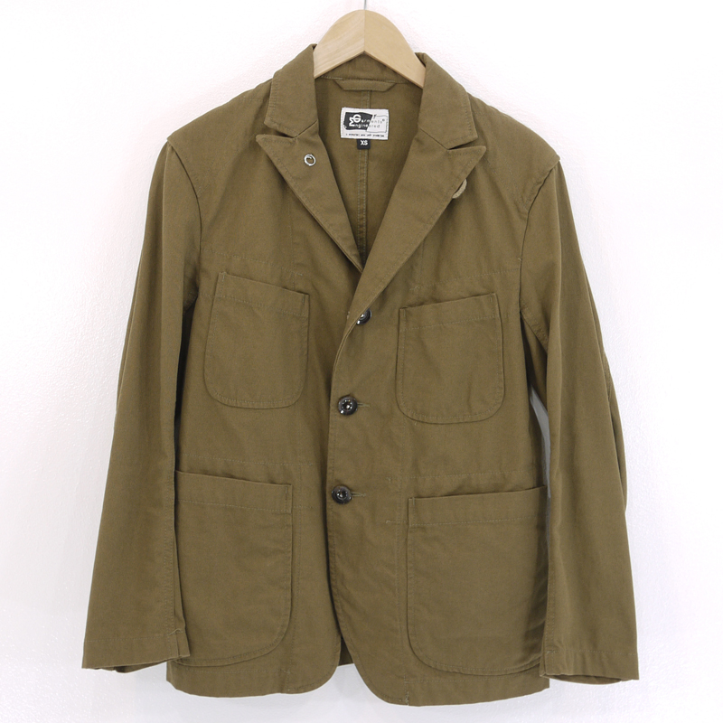 【中古】ENGINEERED GARMENTS/エンジニアド ガーメンツ Bedford Jacket ジャケット サイズ:XS カラー:カーキ【f091】