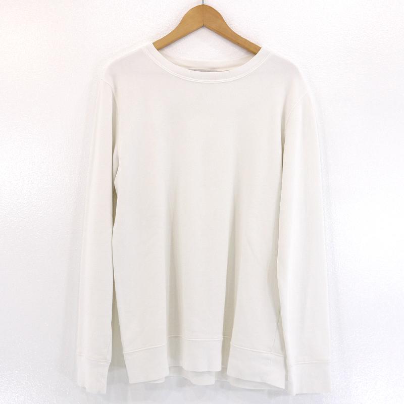 【中古】Ron Herman/ロンハーマン 長袖スウェットシャツ サイズ:L カラー:ホワイト【f102】