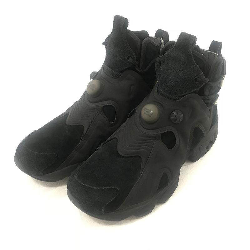 【中古】Reebok×FUTURE/リーボック×フューチャー FURIKAZE FUTURE BS7420 スニーカー サイズ:27.0cm カラー:ブラック【f126】