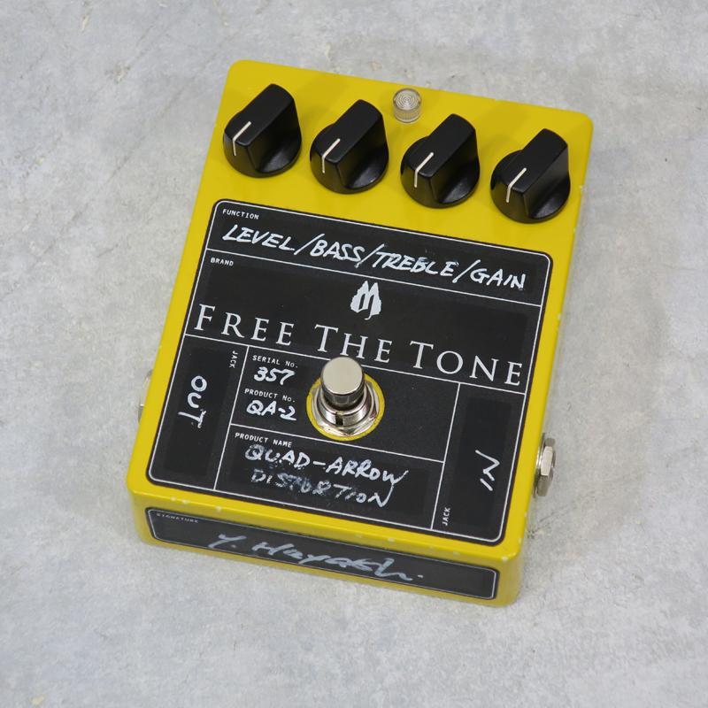 【送料無料・代金引換不可・日時指定不可】Free The Tone/QA-2【中古】【楽器/エフェクター/ギター用オーバードライブ/フリーザトーン】