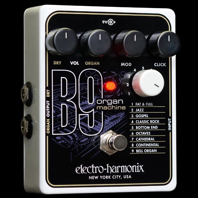 【送料無料・代金引換不可・日時指定不可】Electro-Harmonix/B9 Organ Machine【新品】【楽器/エフェクター/エレクトロハーモニクス/ギターシンセ/オルガンマシン/ギター用エフェクター】