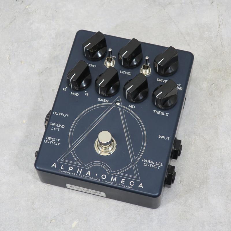【送料無料・代金引換不可・日時指定不可】Darkglass Electronics/ALPHA・OMEGA【中古】【楽器/エフェクター/ダークグラス/ベース用エフェクター/ストーション】