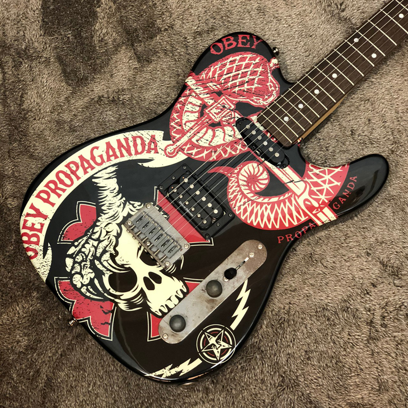 <title>送料無料 Squier OBEY PROPAGANDA Telecaster 中古 出色 楽器 スクワイヤー テレキャスター レリック エレキギター</title>