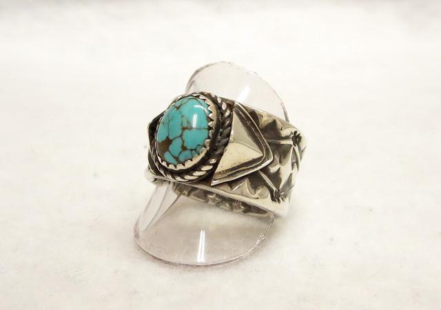 【新品/未使用品】NAVAJO/ナバホ族 シルバーリング/指輪 サイズ:17.5号