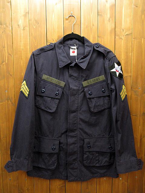 【中古】marka/マーカ ミリタリージャケット サイズ:2 カラー:ネイビー / ドメス