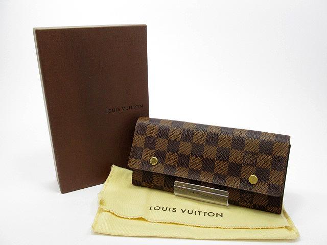【中古】LOUIS VUITTON/ルイ ヴィトン N63093 ダミエ ポルトフォイユロンモデュラブル 長財布