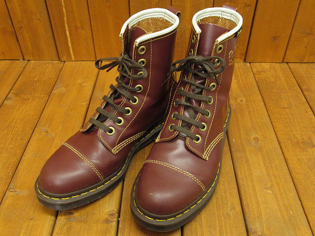 【中古】Dr.Martens/ドクターマーチン CAPPER キャッパー ブーツ サイズ:UK8(約26.5cm) カラー:OXBLOOD