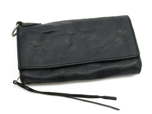 【中古】ANNAK/アナック 長財布 ロングウォレット カラー:ブラック