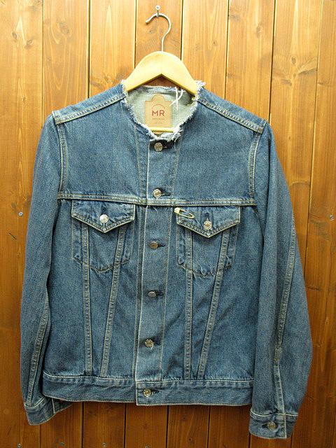 【中古】Mr.GENTLEMAN/ミスタージェントルマン デニムジャケット サイズ:M カラー:ブルー