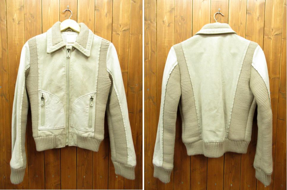 【中古】DIESEL/ディーゼル ジャケット サイズ:M カラー:ホワイト / インポート