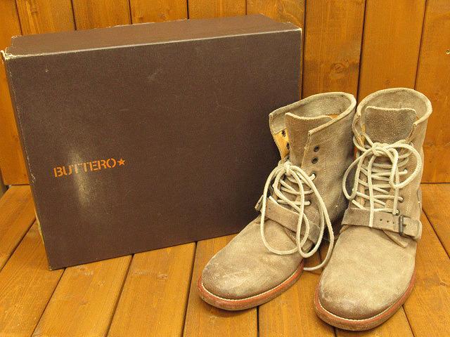 【中古】BUTTERO/ブッテロ ブーツ サイズ:41(約25.5cm) カラー:ベージュ