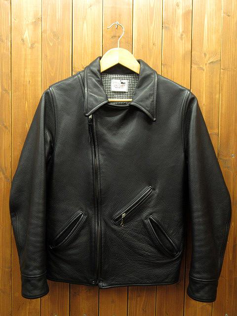 【中古】GANGSTERVILLE/ギャングスタービル レザージャケット サイズ:M カラー:ブラック / ルード