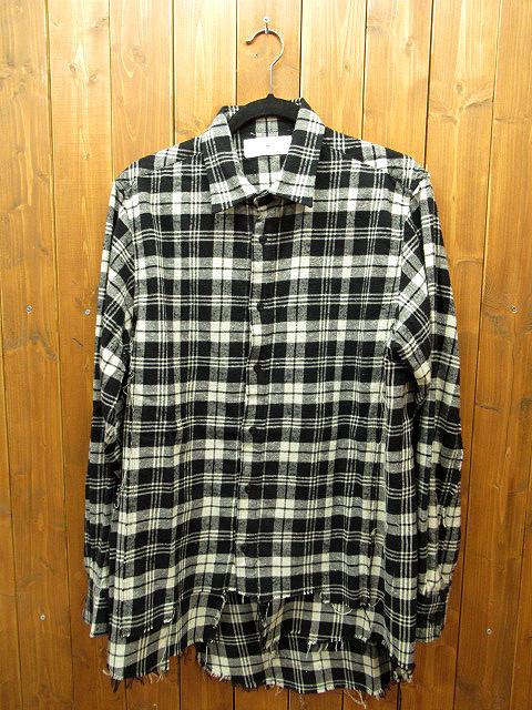 【中古】CONVERSE TOKYO ONE/コンバーストウキョワン 長袖 シャツ サイズ:表記なし カラー:ブラック系(チェック柄)