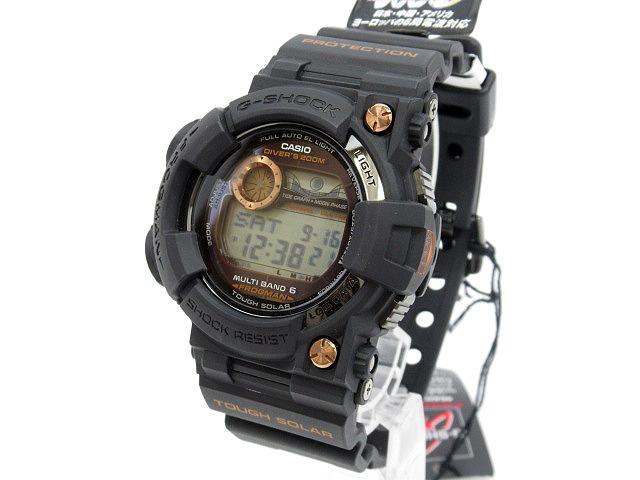 【中古】CASIO/カシオ G-SHOCK ジーショック FROGMAN フロッグマン 腕時計 GWF-1000B-1JR ブラック×ブラック ソーラー 樹脂バンド