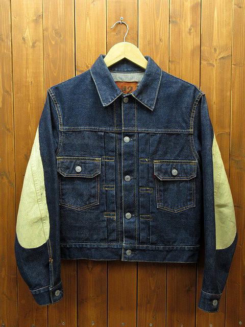 【中古】EVISU/エヴィス デニムジャケット サイズ:36 カラー:インディゴ / アメカジ