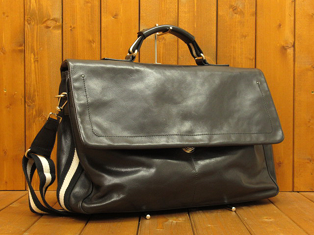 【中古】BALLY/バリー レザー 2way ビジネスバッグ カラー:ブラック
