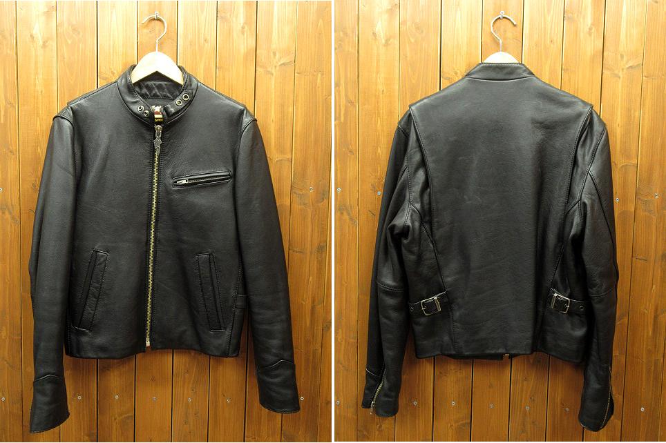 【中古】HARLEY DAVIDSON/ハーレーダビッドソン レザージャケット サイズ:L カラー:ブラック / アメカジ