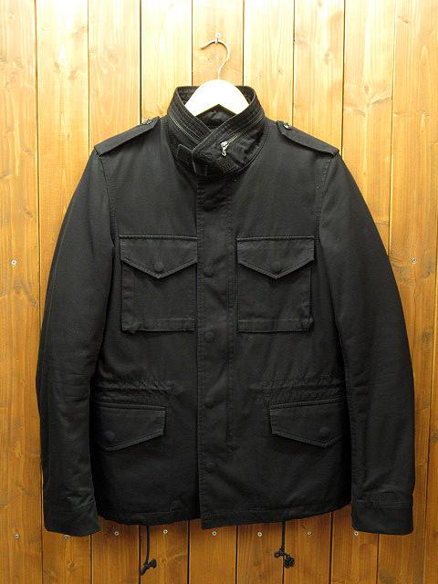 【中古】ATTACHMENT アタッチメント ミリタリージャケット サイズ:2 カラー:ブラック / ドメス