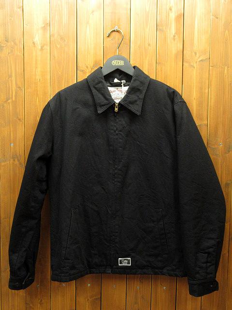 【中古】CALEE|キャリー 中綿 ジャケット サイズ:L カラー:ブラック / ルード