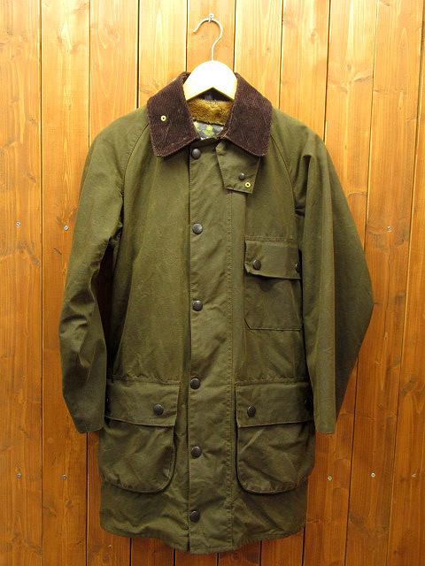 【中古】Barbour|バブアー オイルドジャケット サイズ:34 カラー:カーキ / アメカジ