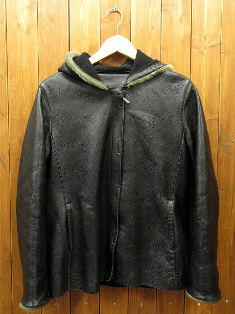 【中古】レザージャケット / ブランド名不明 サイズ:L カラー:ブラック