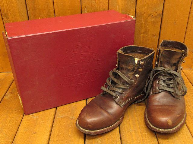 【中古】WOLVERINE ウルヴァリン 1000マイルブーツ W05301 サイズ:9D(約27.0cm) カラー:ブラウン