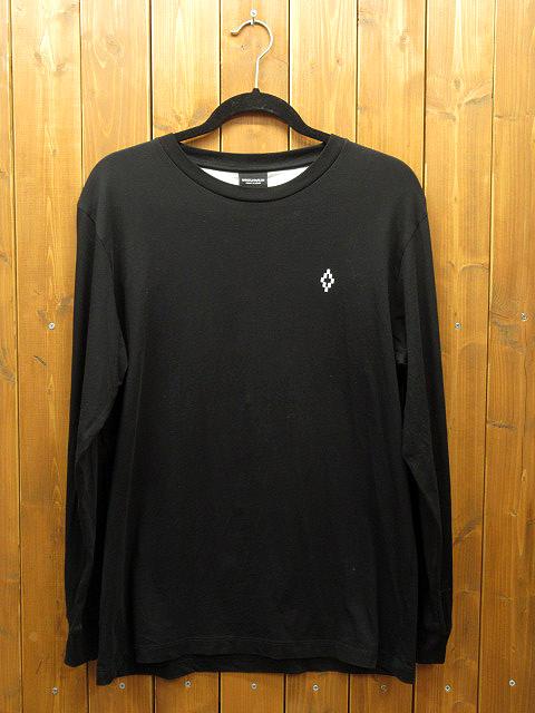 【中古】MARCELO BURLON|マルセロバーロン L/S Tシャツ サイズ:S カラー:ブラック