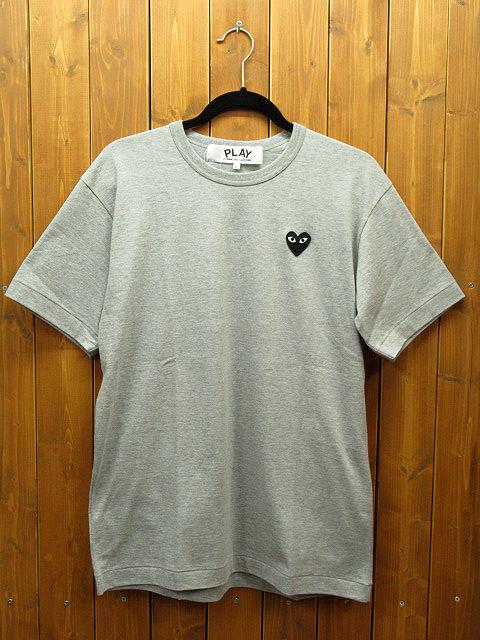 【中古】PLAY COMME des GARCONS|プレイコムデギャルソン L/S Tシャツ サイズ:L カラー:グレー / ドメス