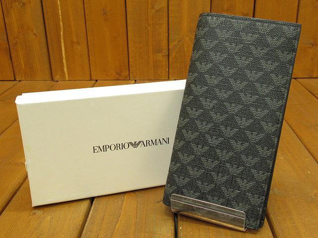 【中古】EMPORIO ARMANI|エンポリオアルマーニ 長財布 / ロングウォレット カラー:グレー系