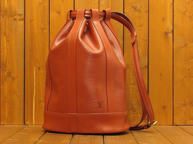 【中古】LOUIS VUITTON ルイヴィトン M43087 エピ ランドネGM ワンショルダーバッグ カラー:ブラウン