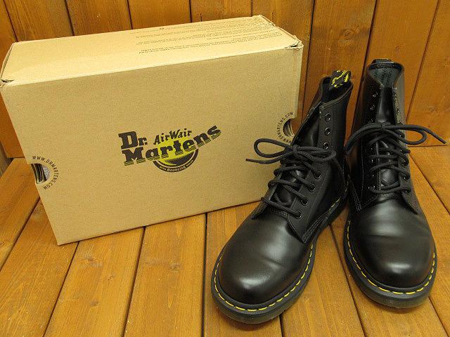 【中古】 Dr.Martens|ドクターマーチン 1460 8EYE BOOT BLACK 11822006 / ブーツ サイズ:UK7(約26.0cm) カラー:ブラック