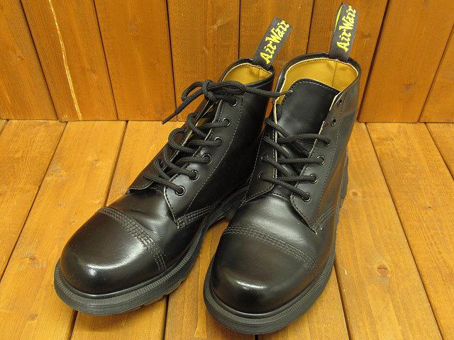 【中古】Dr.Martens|ドクターマーチン ストレートチップ ブーツ サイズ:UK8(約27.0cm) カラー:ブラック
