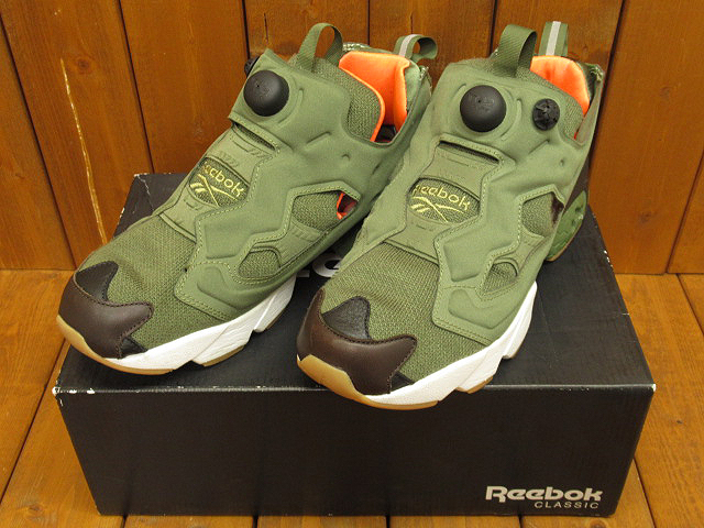 "【中古】Reebok|リーボック INSTA PUMP FURY OG ""FLIGHT JACKET"" ""Winiche & Co. × mita sneakers AR3508 / スニーカー サイズ:27.0cm カラー:グリーン系【f126】"