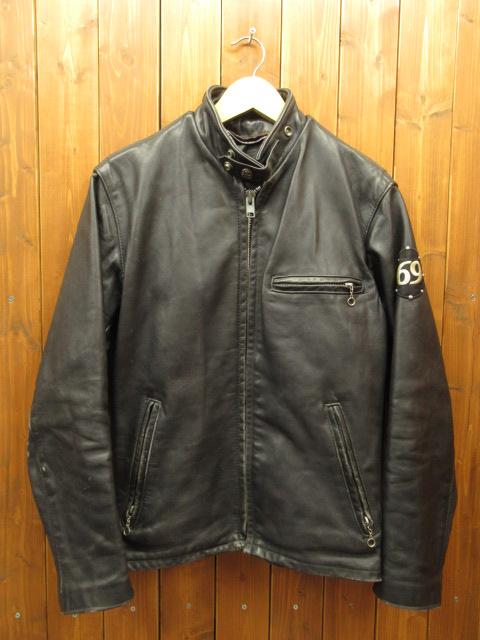 【中古】SCHOTT ショット レザージャケット【f093】 サイズ:36 カラー:ブラック / アメカジ