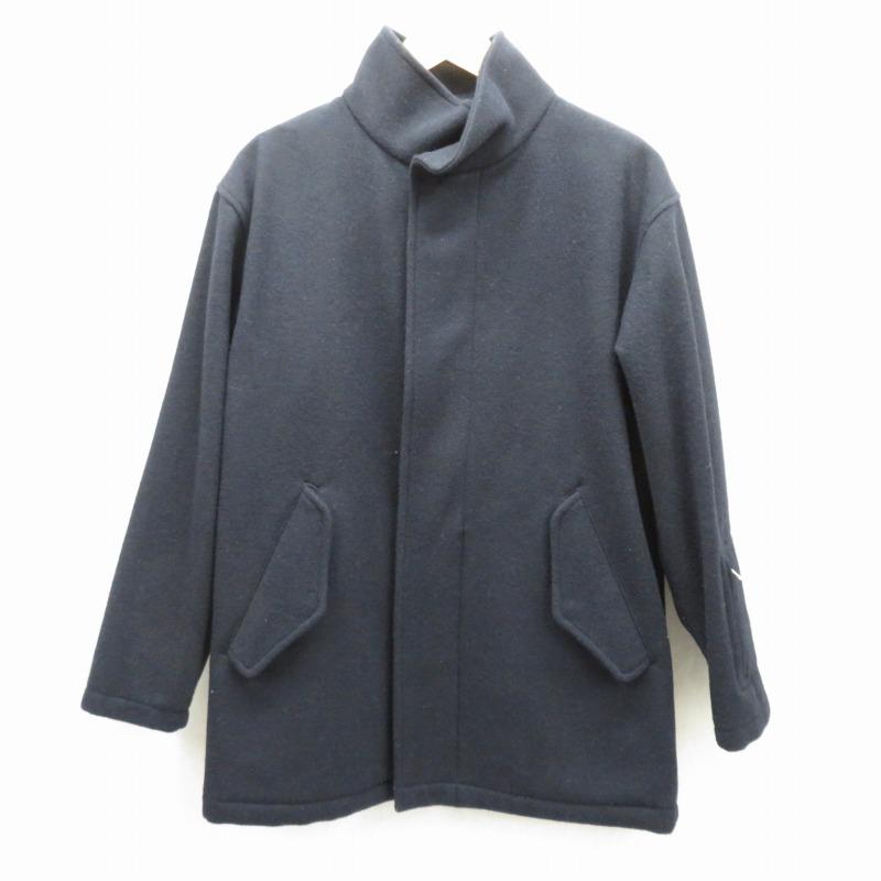【中古】SOPHNET./ソフネット ウールジャケット サイズ:M カラー:ネイビー / ストリート【f095】