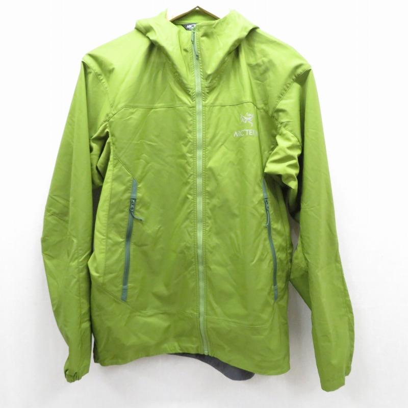 【中古】ARC'TERYX/アークテリクス Tenquille Hoody マウンテンパーカー ジャケット サイズ:S カラー:グリーン系 / アウトドア【f092】