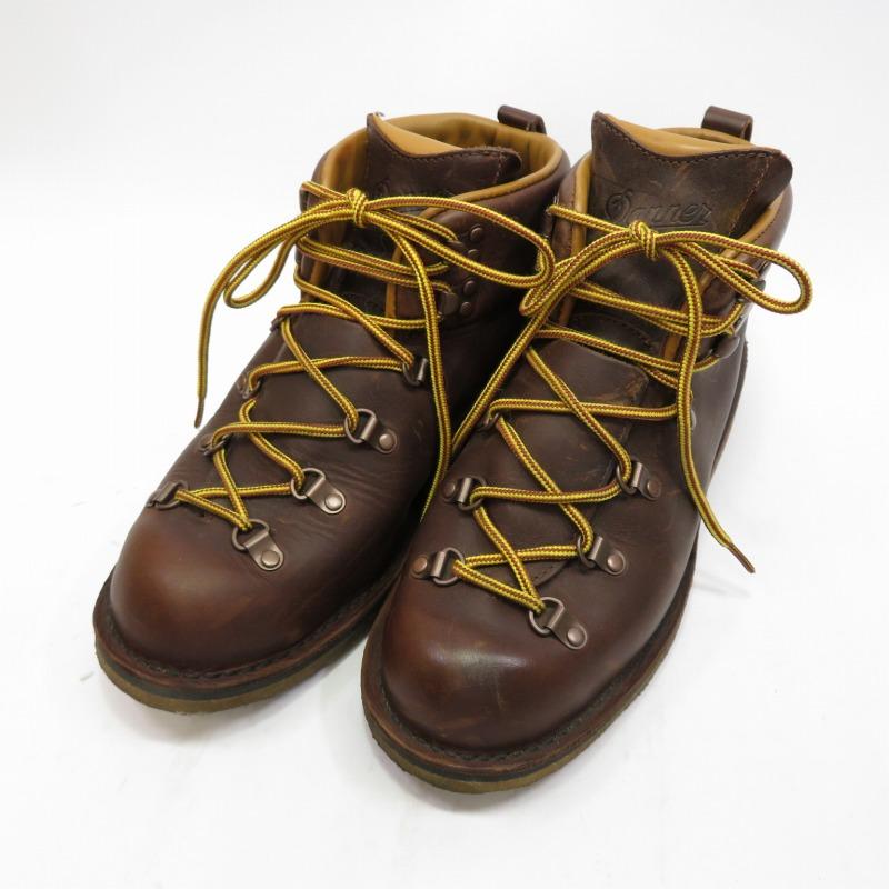 【中古】DANNER/ダナー MOUNTAIN TRAIL LOTUS ISLE ブーツ サイズ:US9 1/2 カラー:ブラウン系【f127】