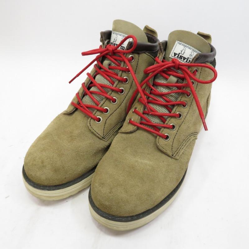 【中古】visvim/ビズビム TYPE 7 HOLE ブーツ サイズ:US9 カラー:ブラウン系【f127】