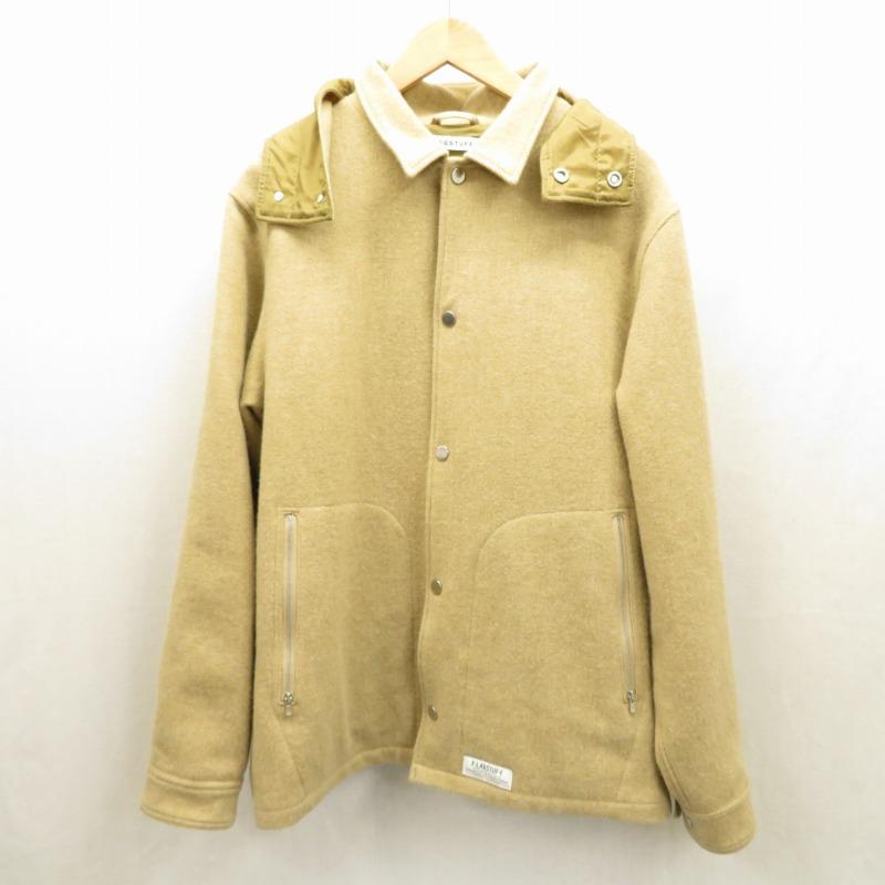【中古】FLAGSTUFF/フラッグスタフ ジャケット サイズ:L カラー:ベージュ【f104】