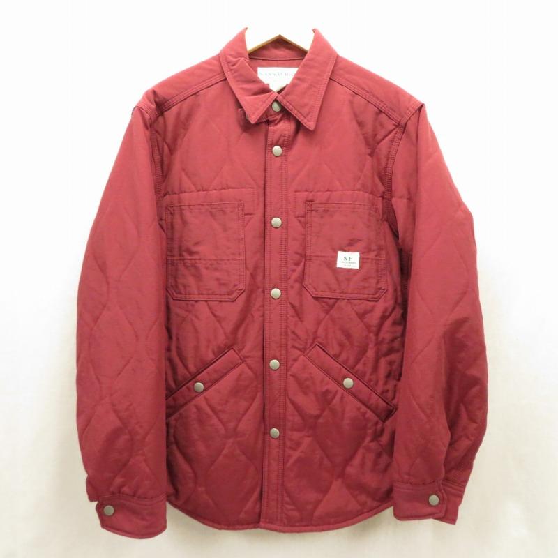 【中古】SASSAFRAS/ササフラス ジャケット サイズ:M カラー:レッド系 / セレクト【f091】