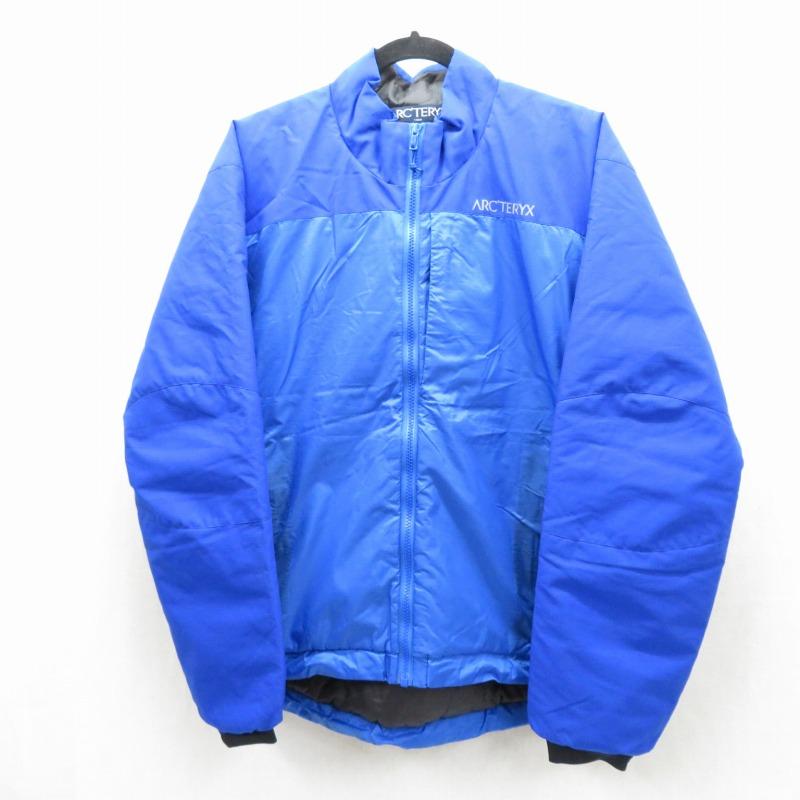 【中古】Arc'teryx/アークテリクス プリマロフト 中綿ジャケット サイズ:S カラー:ブルー / アウトドア【f092】