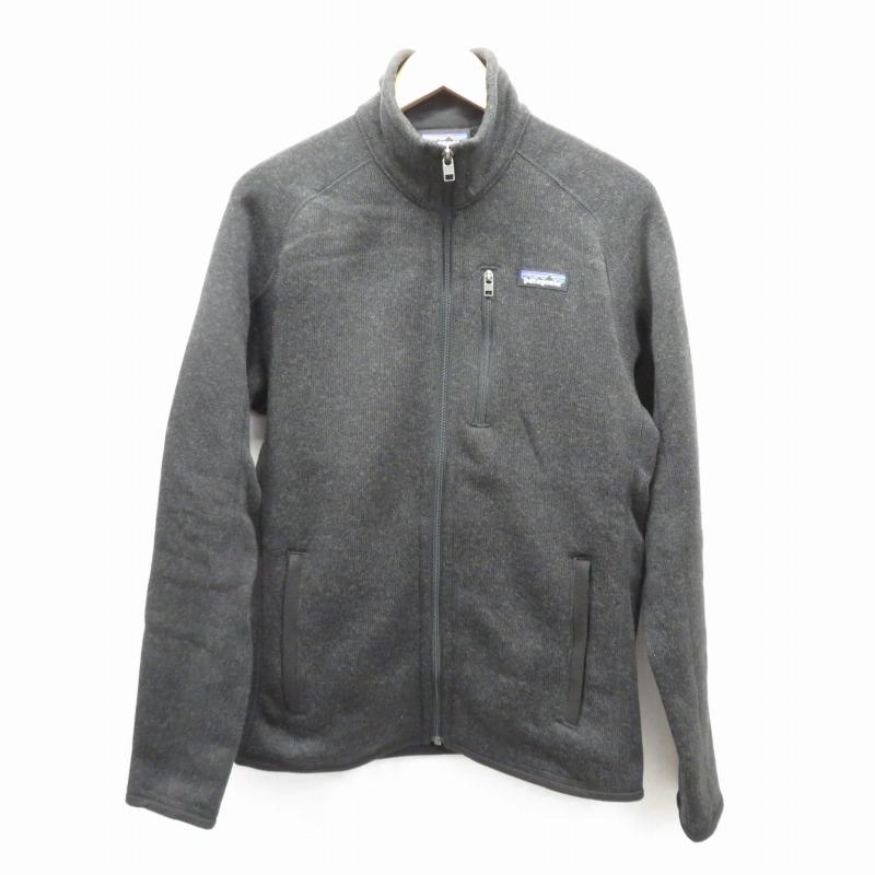 【中古】patagonia/パタゴニア メンズ・ベター・セーター・ジャケット サイズ:XS カラー:ブラック / アウトドア【f092】