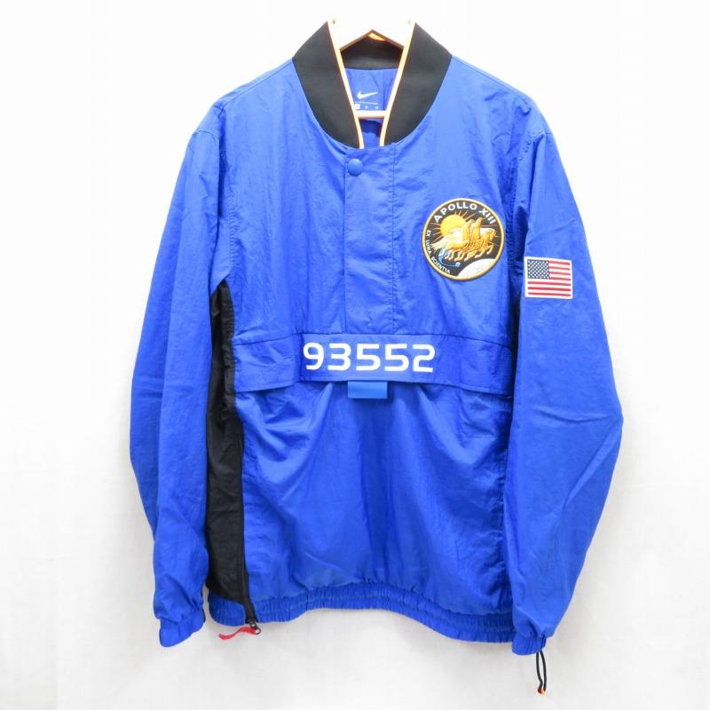 【期間限定】ポイント20倍【中古】NIKE/ナイキ PG NASA TRACKSUIT トラックスーツ セットアップ  サイズ:M カラー:ブルー / ストリート 【f095】