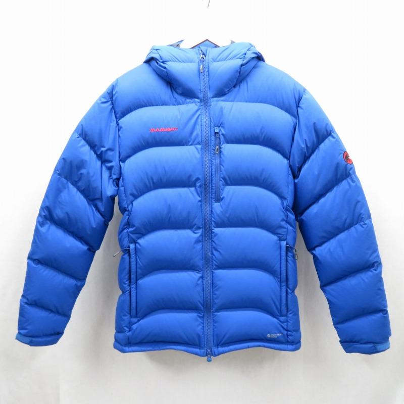 【期間限定】ポイント20倍【中古】MAMMUT/マムート XERON Down Hoody ダウンジャケット サイズ:XL カラー:ブルー / アウトドア【f092】