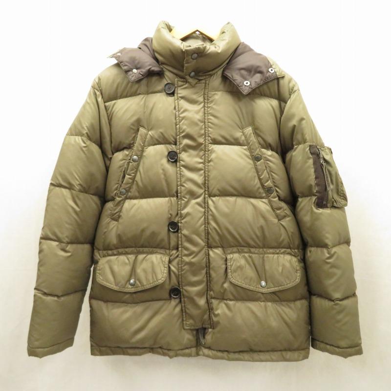 【中古】DUVETICA/デュベティカ ダウンジャケット サイズ:46 カラー:カーキ系【f108】