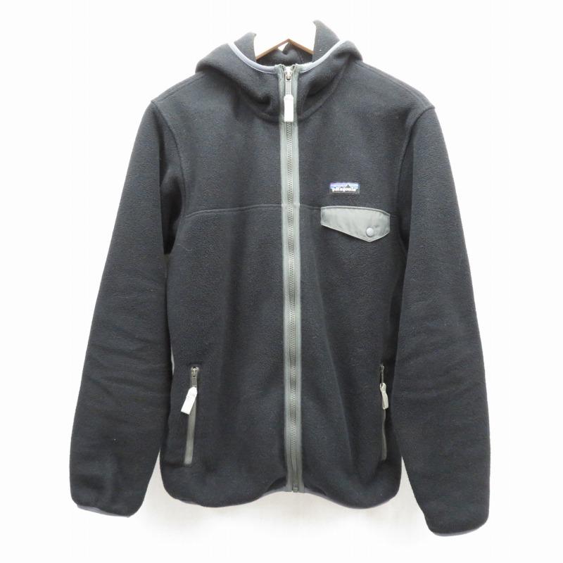 【期間限定】ポイント20倍【中古】Patagonia/パタゴニア Synchilla Snap-T Hoody フリースジャケット サイズ:S カラー:ブラック / アウトドア【f092】