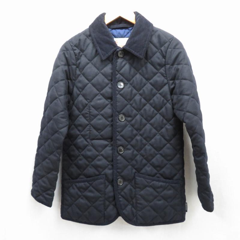 【期間限定】ポイント20倍【中古】Traditional Weatherwear/トラディショナルウェザーウェア キルティングジャケット サイズ:36 カラー:ダークネイビー / インポート【f094】